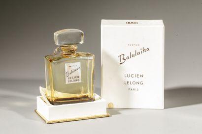 LUCIEN LELONG « Balalaïka » Flacon en verre...