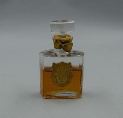 CH. FAY « Plaisir d'amour »  Flacon en verre,...