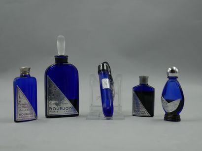 BOURJOIS « Soir de Paris »  Lot de 5 flacons...