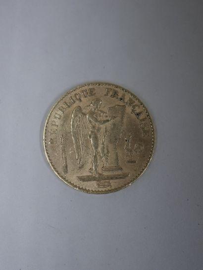 20 Francs or - 1874 - 6,40gr