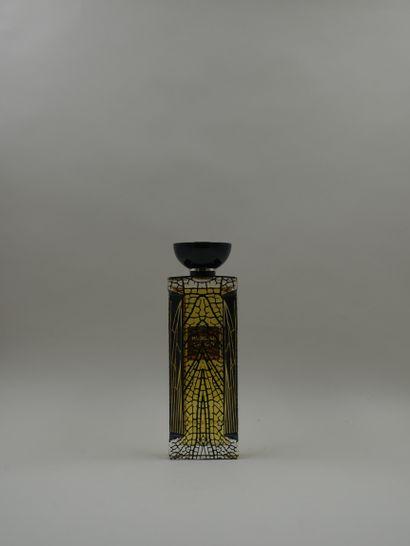 LALIQUE « Noir premier illusion captive 1898 »  Flacon vaporisateur en verre décoré...