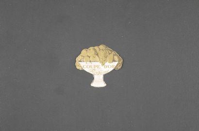 ROSINE « La coupe d'or »  Rare étiquette,...