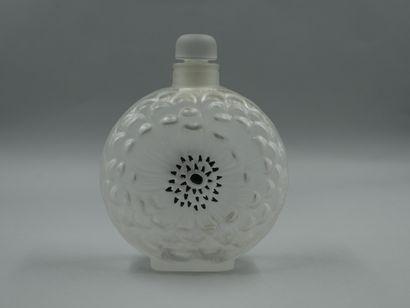 Lalique. Flacon Dahlia. Flacon à parfum en...