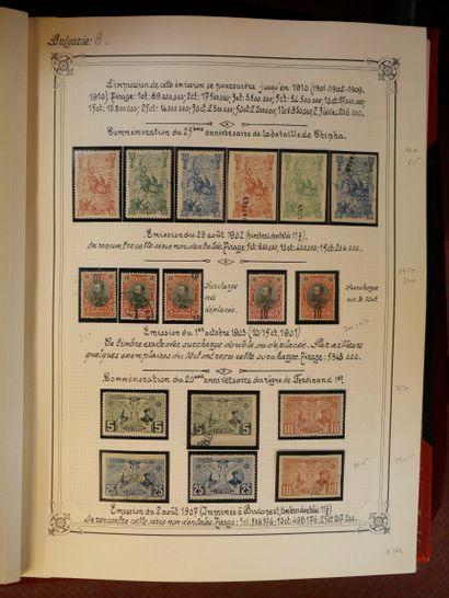 BULGARIE Emissions 1878/1979 POSTE, PA, TAXE : Très belle collection de timbres...