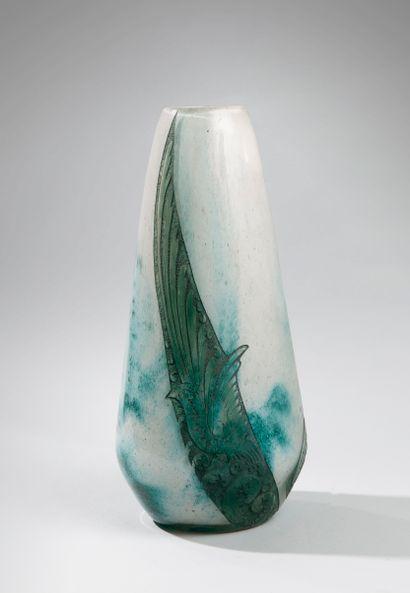 LEGRAS François-Théodore (1839-1916). Vase...