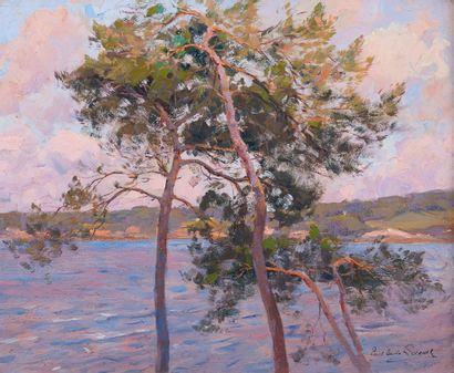 Paul Emile LECOMTE (1877-1950). Vue sur la...