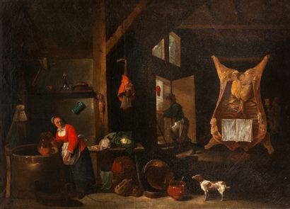 Ecole Flamande vers 1700, suiveur de David...