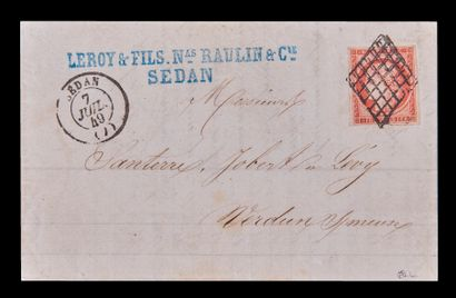 FRANCE Emission 1849/50 : N°7a-1F VERMILLON...