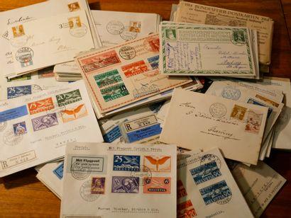 SUISSE Emissions 1900/1938 : Lot de lettres...