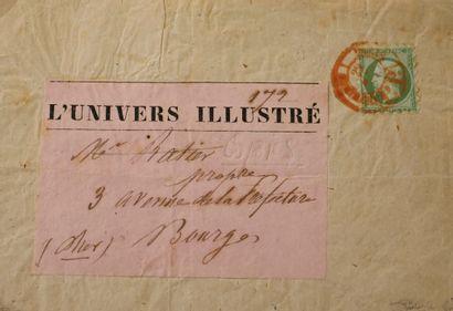 FRANCE Emission 1854 : N°12-5c vert Piquage...