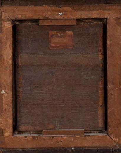 Ecole Française XVIIème siècle, suiveur de Philippe de Champaigne. Religieuse en...