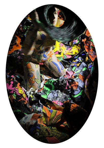 Hector OLGUIN (1970). Ju. 40 photographies couleur format 13 x 18 cm imprimées sur...