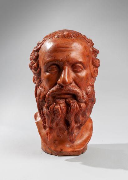 Gennaro CHIURAZZI (1842-1906). Buste de philosophe....
