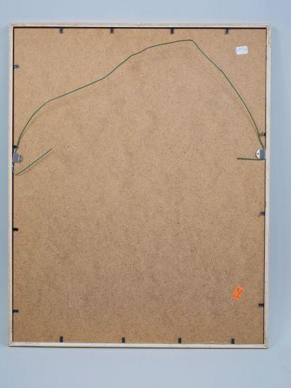 Ecole Française XXe siècle. Palma, 1966. Aquarelle et encre sur papier, titrée,...