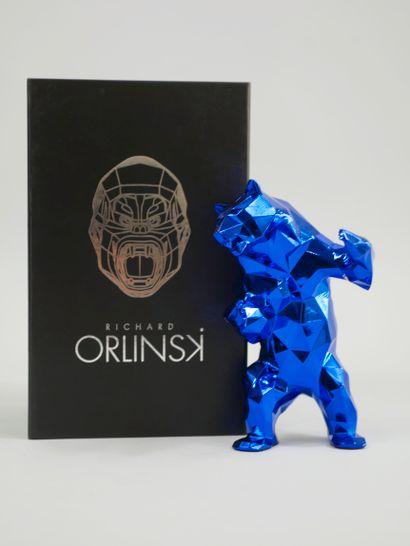 Richard ORLINSKI (1966). Ours bleu. Epreuve...