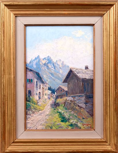Etienne BOVIER-LAPIERRE (1908 - 1987). Paysage...