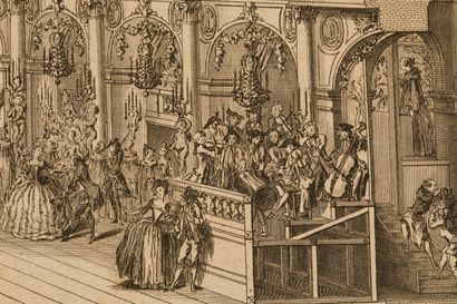 Livre XVIIIe, « Description des festes données...