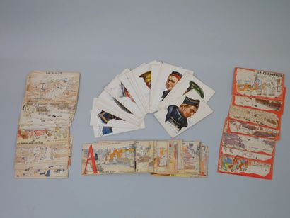 Set of postcards: The Soldier's Alphabet, The First Days of a Rookie, The Soldier's...