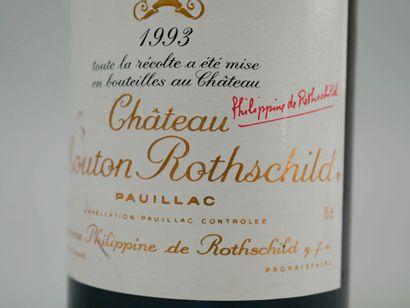 1 bouteille Château Mouton Rothschild, Pauillac, 1993