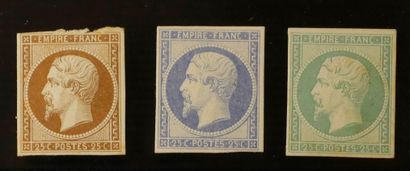 FRANCE Emissions of the Empire 1854 to 1873: Set of stamps and letters including...