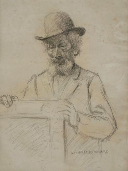Paul Marie LAPIERRE-RENOUARD (1854-?). Portrait...