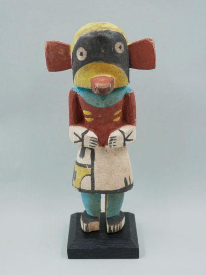 Statuette représentation d'une poupée kachina...