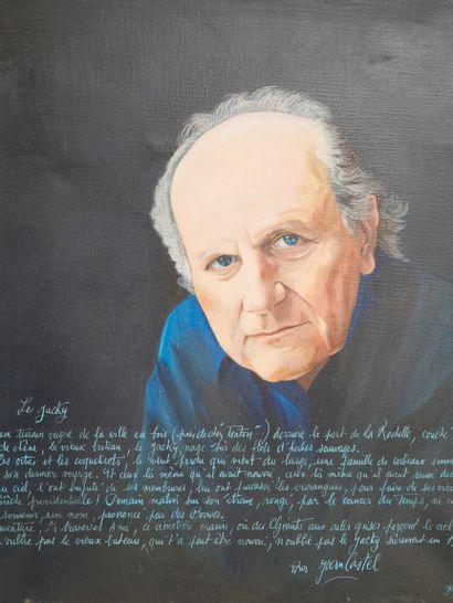 Jean Luc LACOMBE (1955). Portrait de Jean...