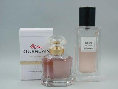 Lot de deux flacons de parfum :  - GUERLAIN...
