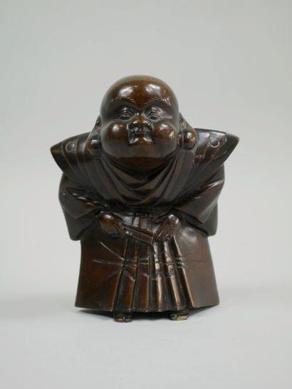 Japon. Période MEIJI (1868-1912). Okimono...