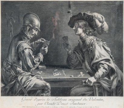 Gravure par Claude DONAT JARDINIER (1725-177.),...