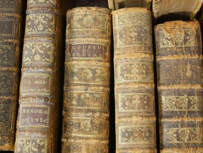Lot de livres XVIIIè et XIXè siècle. En ...