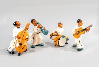 Orchestre de Jazz Band, dans le goût de ROBJ,...