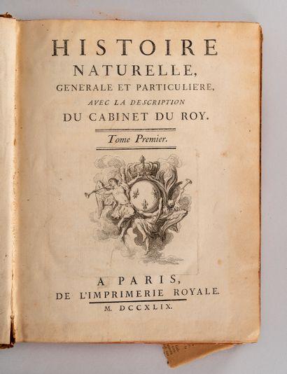 Georges Louis Leclerc, comte de BUFFON. L'Histoire Naturelle, générale et particulière,...