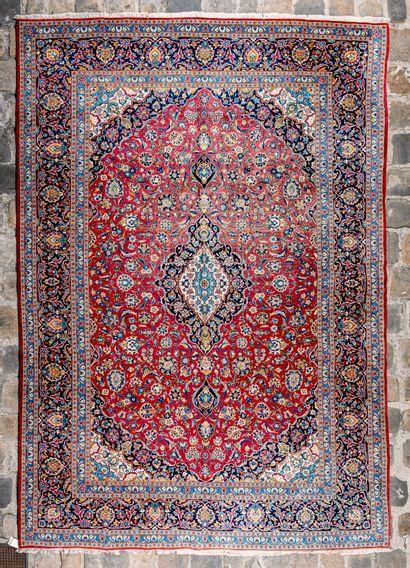 Important Kachan (Iran) vers 1980.  372 x...