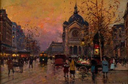Édouard CORTES (1882-1969). L'église Saint-Augustin...