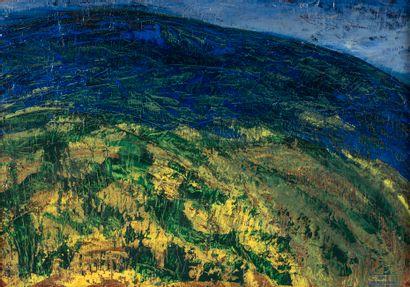 Dora MAAR (1907-1997). Paysage du Luberon....