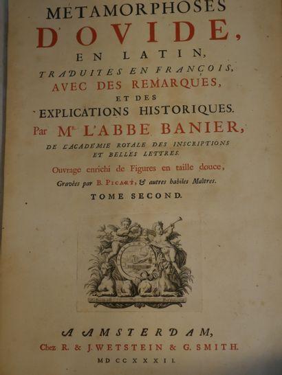 OVIDE. Les Métamorphoses, en latin et en...