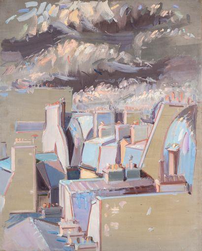 Jean HÉLION (1904-1987). Sans titre (les...