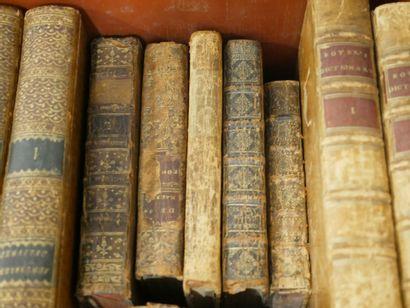 Lot de livres XVIIIè et XIXè siècle. En l'état.