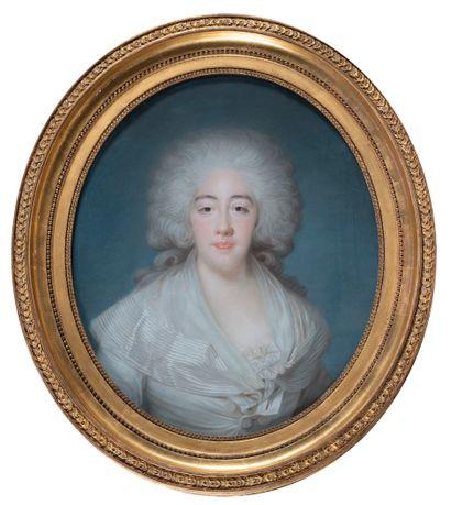Joseph BOZE ( 1745-1826 ) Portrait de la...