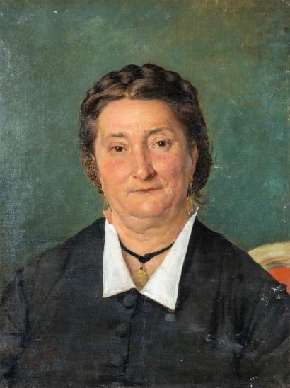 Jules BASTIEN-LEPAGE (1848-1884). Portrait...