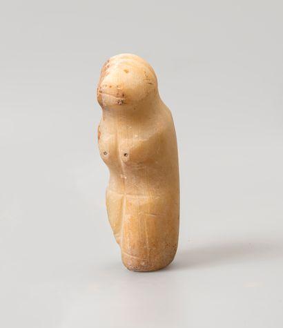 Statue d'un animal. Probablement un ours....