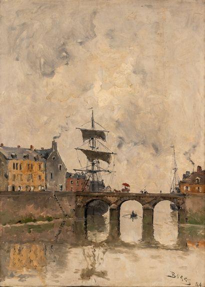 Franck BOGGS (1855-1926), Port de Normandie....