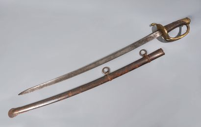 Sabre de cavalerie légère modèle 1816. Poignée...