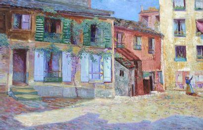 WAROQUIER Henri de- La Rue Froideveau- 1900....