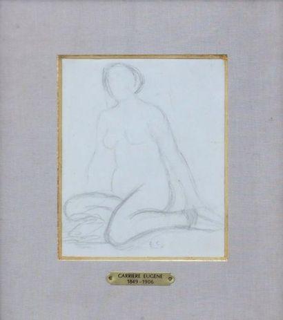 CARRIERE Eugène Attribué à (-1849-1906)-...