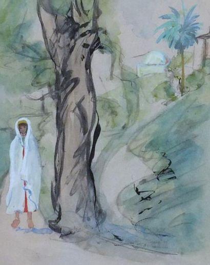 MAINSSIEUX Lucien. ( 1885-1958) Jeune tunisien...