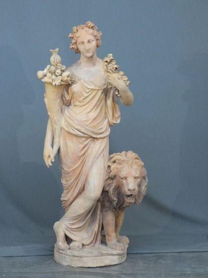 GOSSIN FRERES PARIS -  Importante statue...