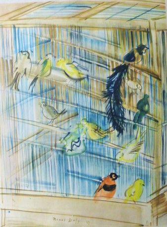 DUFY Raoul- La cage aux oiseaux- Affiches...