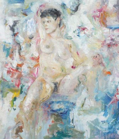 ROSENTHAL Clément - né en 1956- Femme nue...